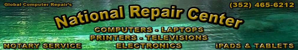 National Repair Center - Computer, Printer and Television Repairs - Notary Service 24/7